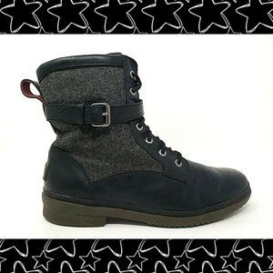 UGG Kesey Leather Combat Boots
